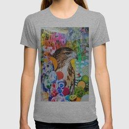 Psychedelic Hawk T-shirt