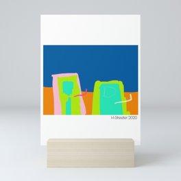 City Scape by H Streeter Mini Art Print