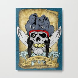 One-Eyed Willy Metal Print