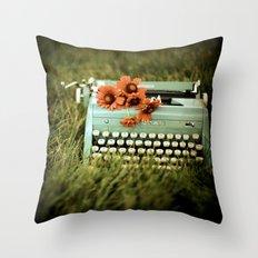 Loveletters Throw Pillow
