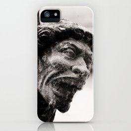 Loving gargoyle iPhone Case