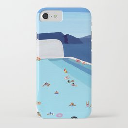 Coastal pool iPhone Case