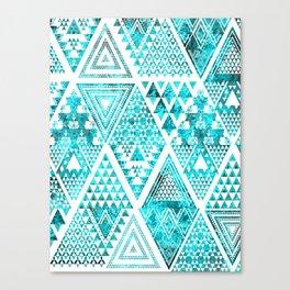 Triangulated Canvas Print
