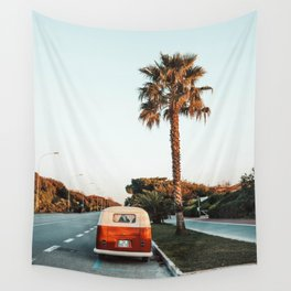 Summer Road Trip Wall Tapestry