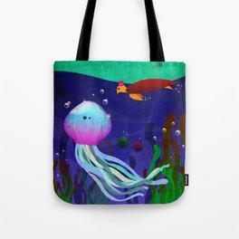 Mr. Jellyfish Tote Bag