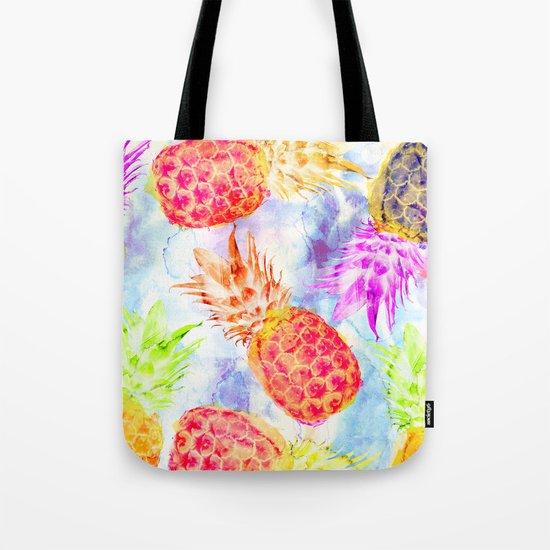 Pineapple's Rhapsody Tote Bag