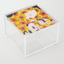 Flower Woman Acrylic Box