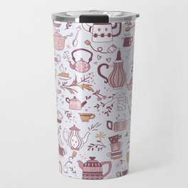 Teapots #1 Travel Mug