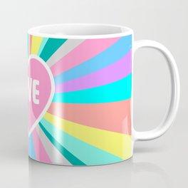 Love Colour Burst Coffee Mug