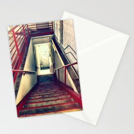 RED RAILS Stationery Cards