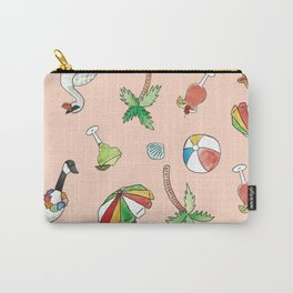 Tropical Goose Paradise Carry-All Pouch