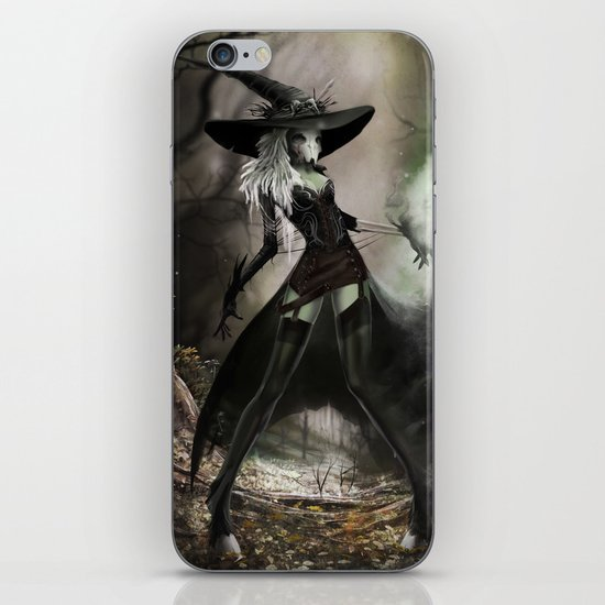 Witch Of Pendle iPhone & iPod Skin