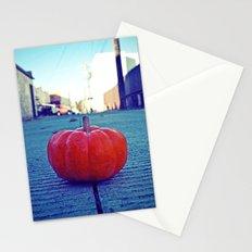 Urban alley pumpkin Stationery Cards