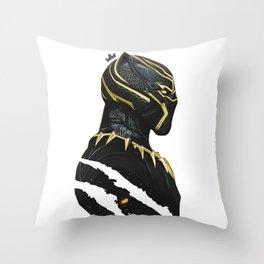BLACK PANTHER X KING MUZE Throw Pillow