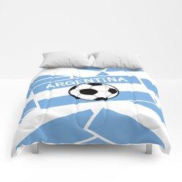Argentina Football Comforters