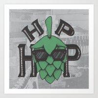 hip hop Art Prints featuring Hip Hop by Deidre Hayden