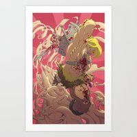 He-Man // BLOOD Art Print