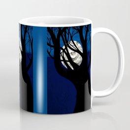 Moon Visits Tree Coffee Mug