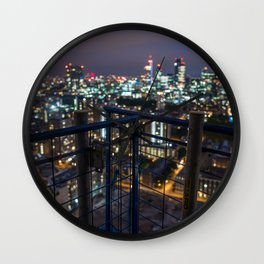 London bokeh Wall Clock