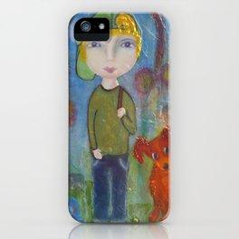 Anton & Gumbo - Whimsies of Light Children Series iPhone Case
