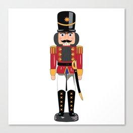 Christmas nutcracker soldier Canvas Print