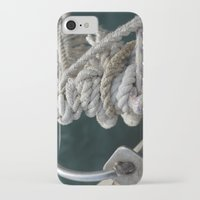 nautical iPhone & iPod Cases featuring Nautical by Marietta Dc Fameli