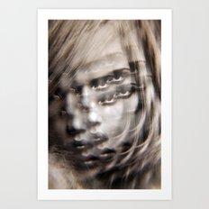 Eye Hypnotize Art Print