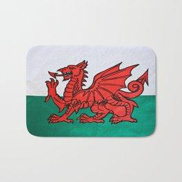 The Welsh Dragon Bath Mat
