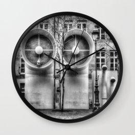 Pompidou center Wall Clock