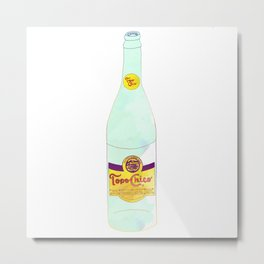 Topo Chico Sparkling Water Seltzer Bottle Metal Print
