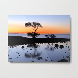 Cleveland Point Sunset Metal Print