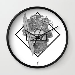 New times, Old Blades Wall Clock