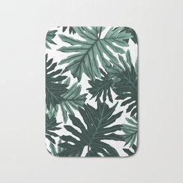 Philo Hope - Tropical Jungle Leaves Pattern #6 #tropical #decor #art #society6 Bath Mat