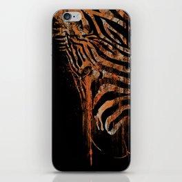 Zebra Mood iPhone Skin