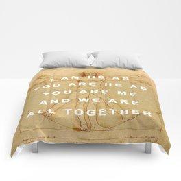 The Vitruvian Man is the Walrus Comforters