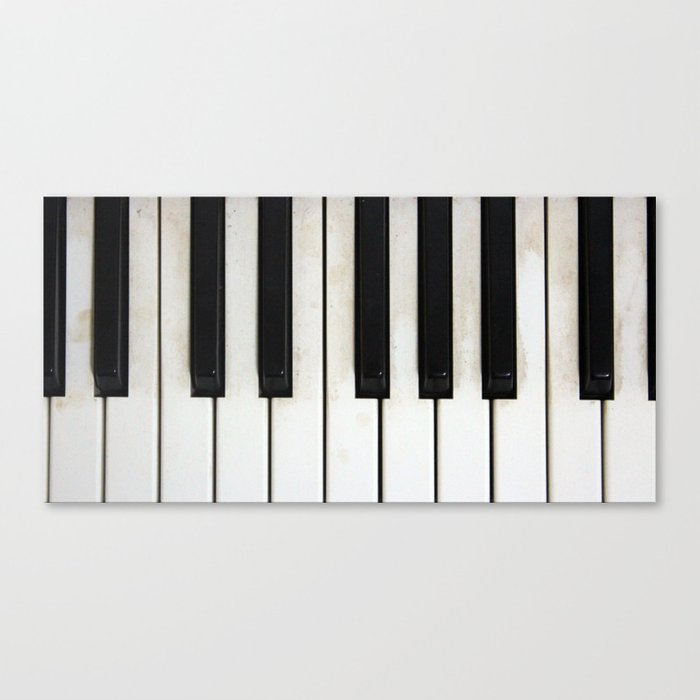 Lost melodies Canvas Print