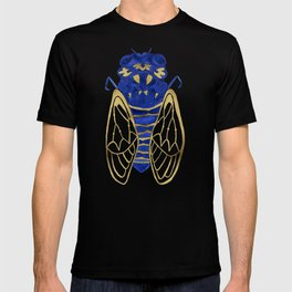 Cicada – Navy & Gold T-shirt