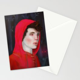 A Red Night Stationery Cards