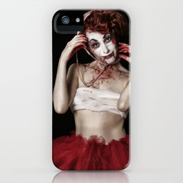 The Joker's Sister: Insanity Runs in the Family iPhone Case