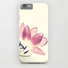 Cuddling Tulips - Botanical Print iPhone 6s Slim Case