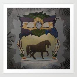 Limousine Art Print