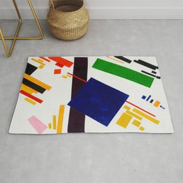 Suprematist Composition by Kazimir Malevich Rug