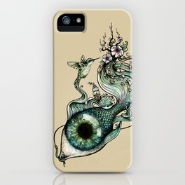 Flowing Inspiration iPhone Case