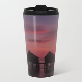 Sunrise Over Water Travel Mug