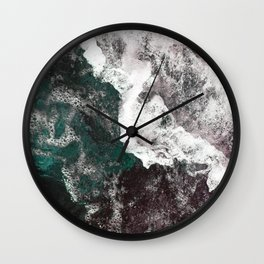 Abstract Sea, Water Wall Clock