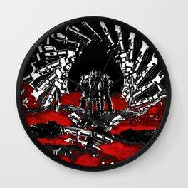 Astro Raiders Wall Clock