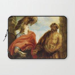 "Sir Anthony van Dyck ""The Two Saints John (Saints John the Baptist and John the Evangelist)"" Laptop Sleeve"