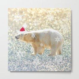 Polar Holiday Metal Print
