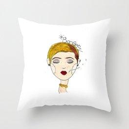 Bangerz Throw Pillow