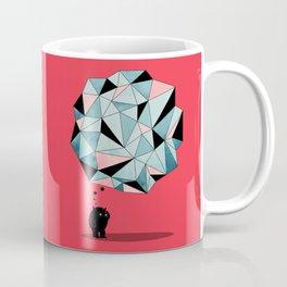 The Pondering Coffee Mug